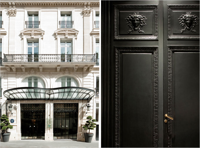 the maison champs elys es in paris rue. Black Bedroom Furniture Sets. Home Design Ideas