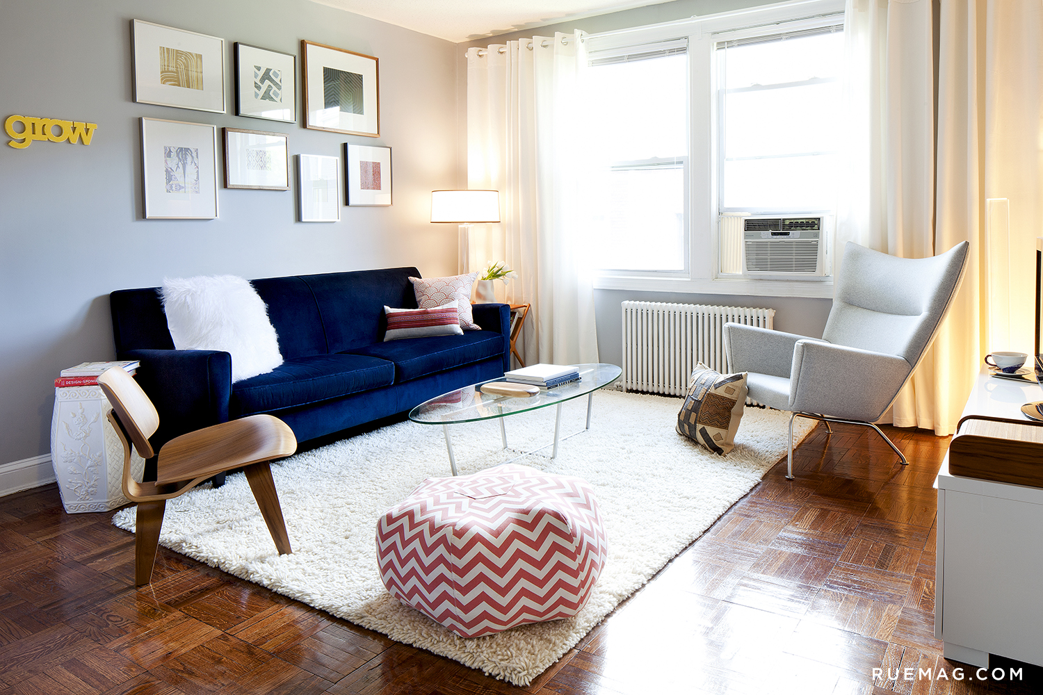 1 & Four Patriotic Rooms for the Fourth | Rue