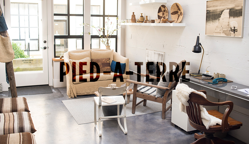 Pied A Terre In French It Literally Translates To Foot On The Ground This Is An Apartment Or House That Someone Uses For Temporary Use As Secondary