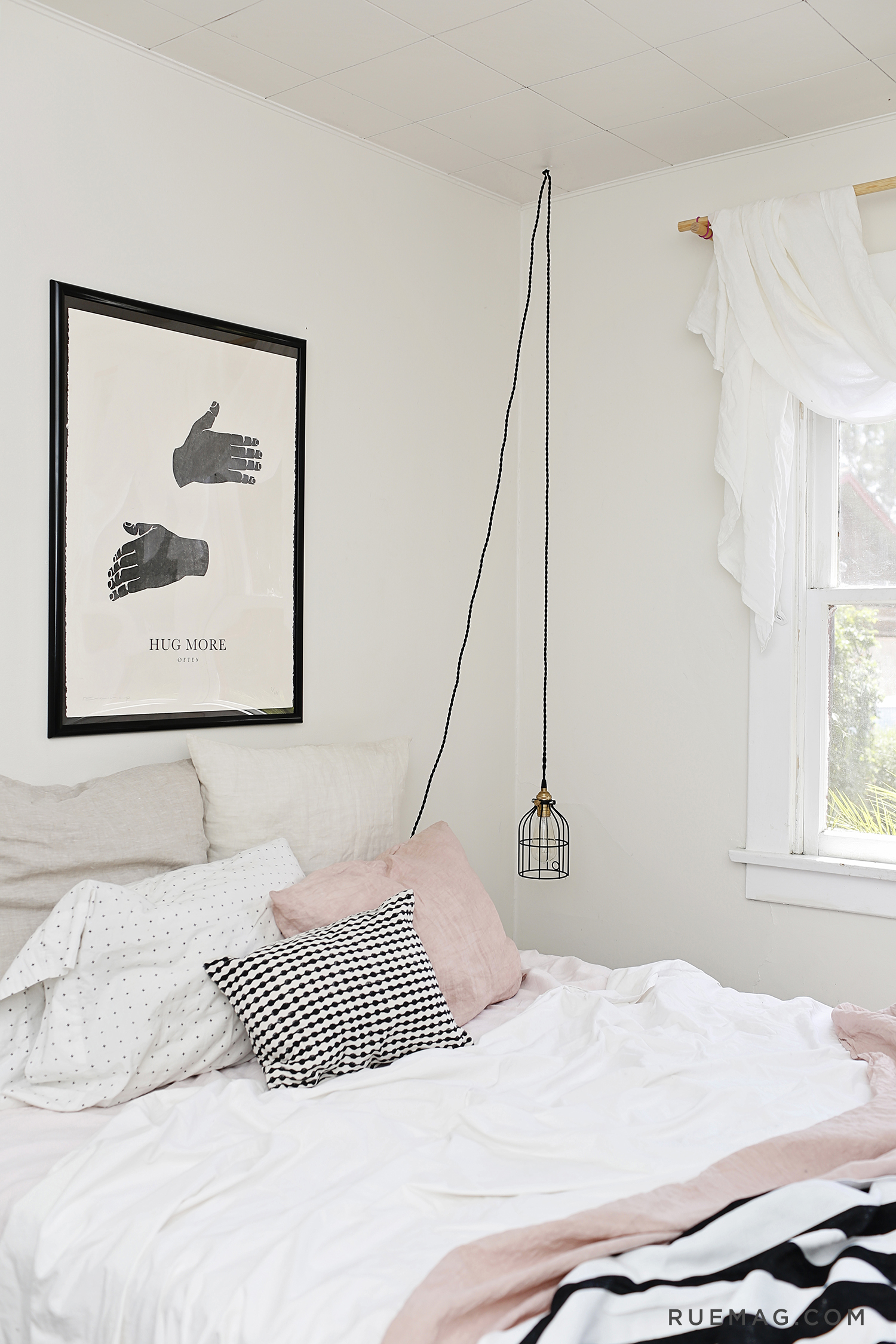 Anthropologie Black And White Bedding