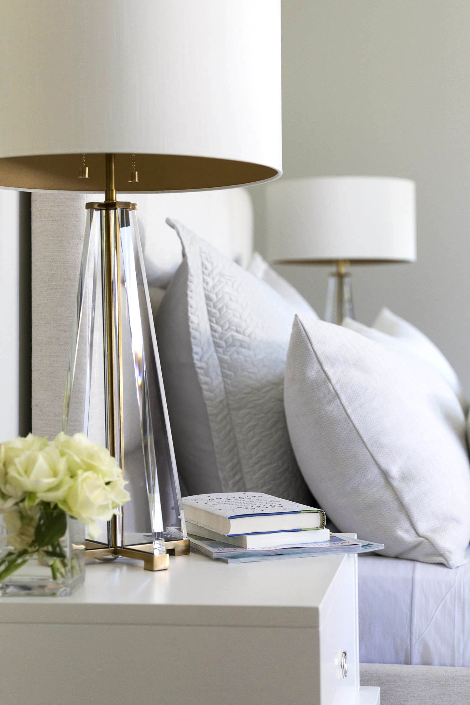 Bedroom Bedside Table: Mead Quin Designs An Elegant Family Home In Atherton