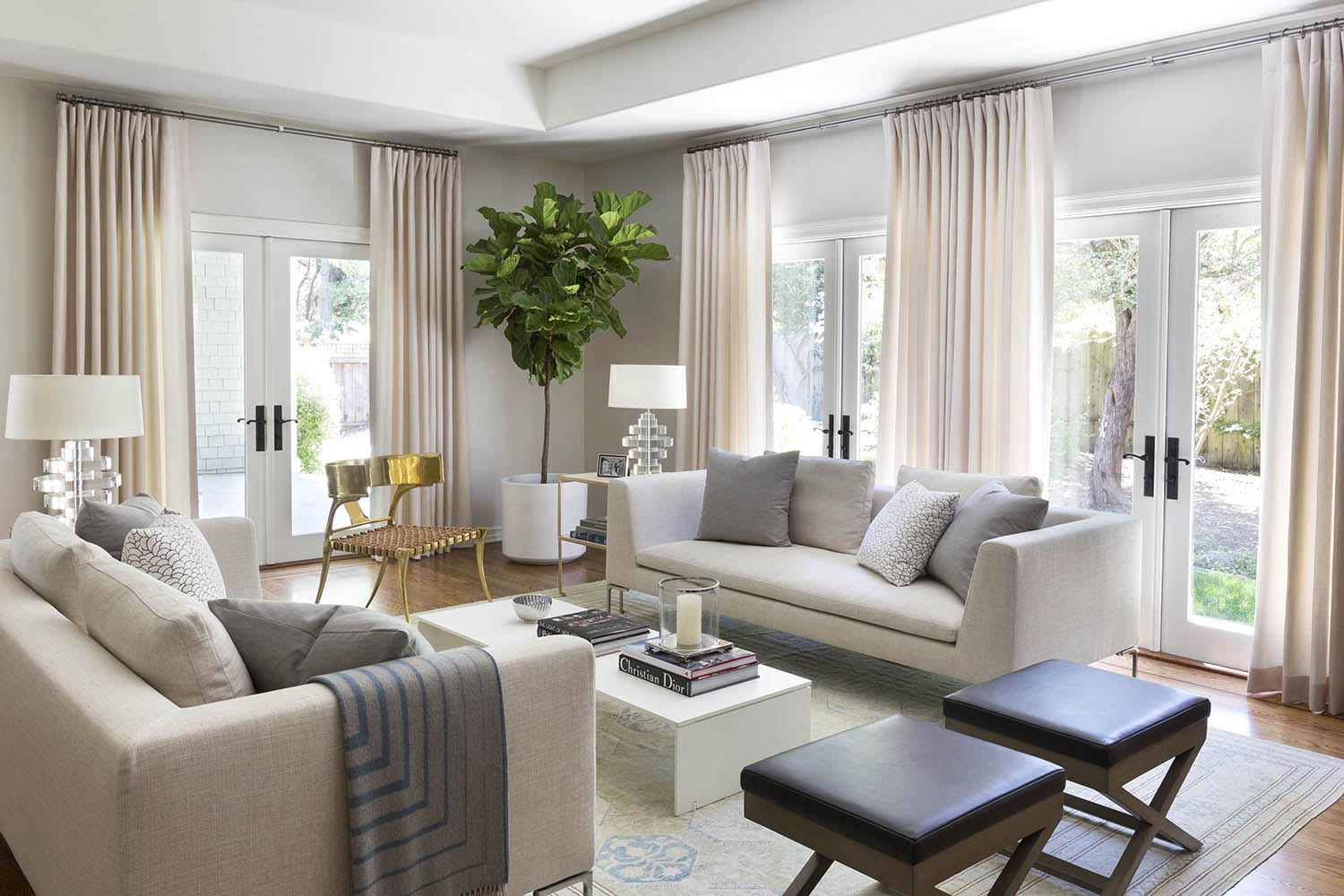 Mead Quin Designs An Elegant Family Home In Atherton Rue