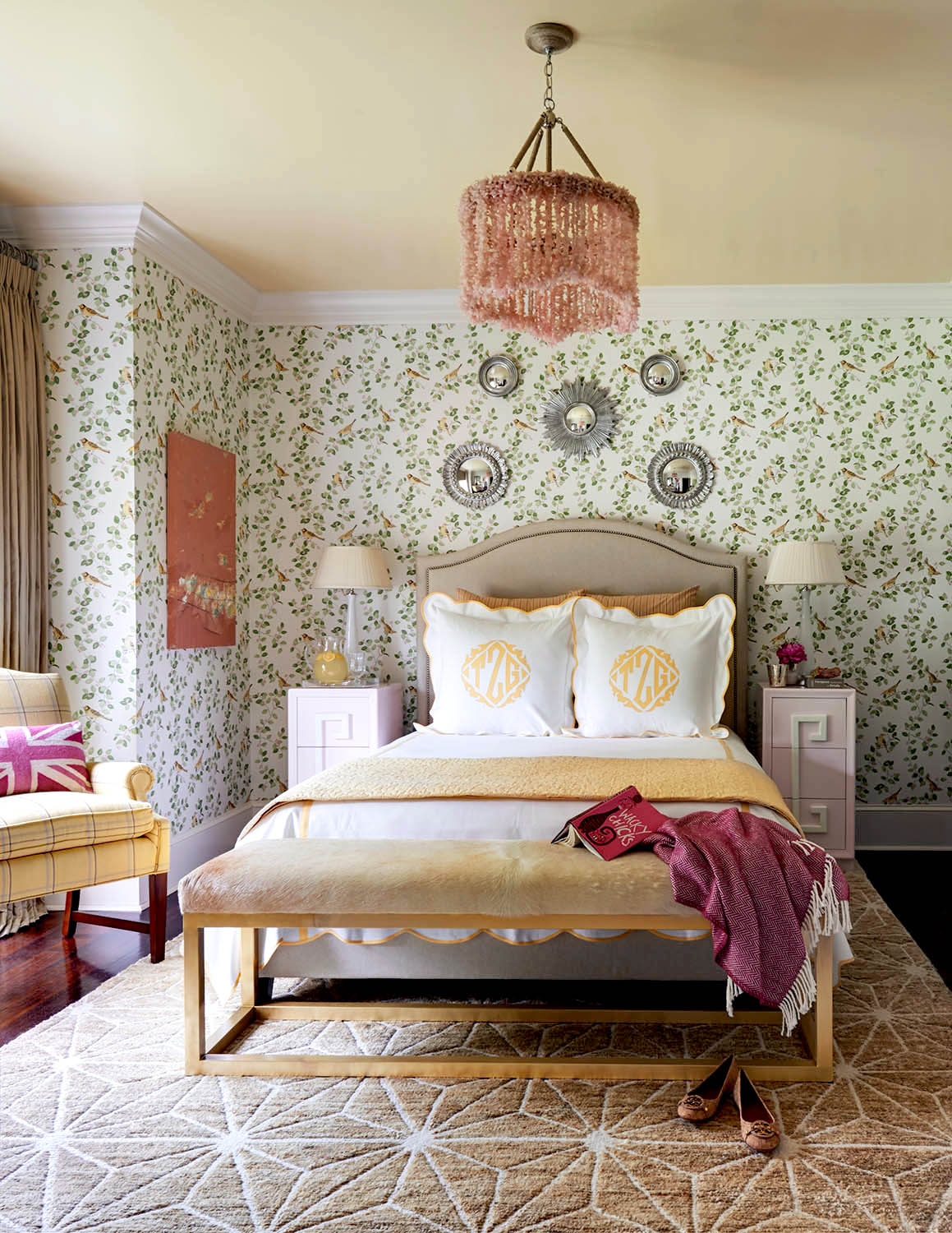 Laura Ashley Bedroom Wallpaper Traci Zeller Evokes Southern Charm In Charlotte Rue