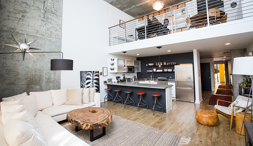 The Sierra Was Actually Built In 2003 By Kava Mih Architects As Live Work Lofts Our Unit Has 25 Windows That Overlook Oakland Estuary Where I