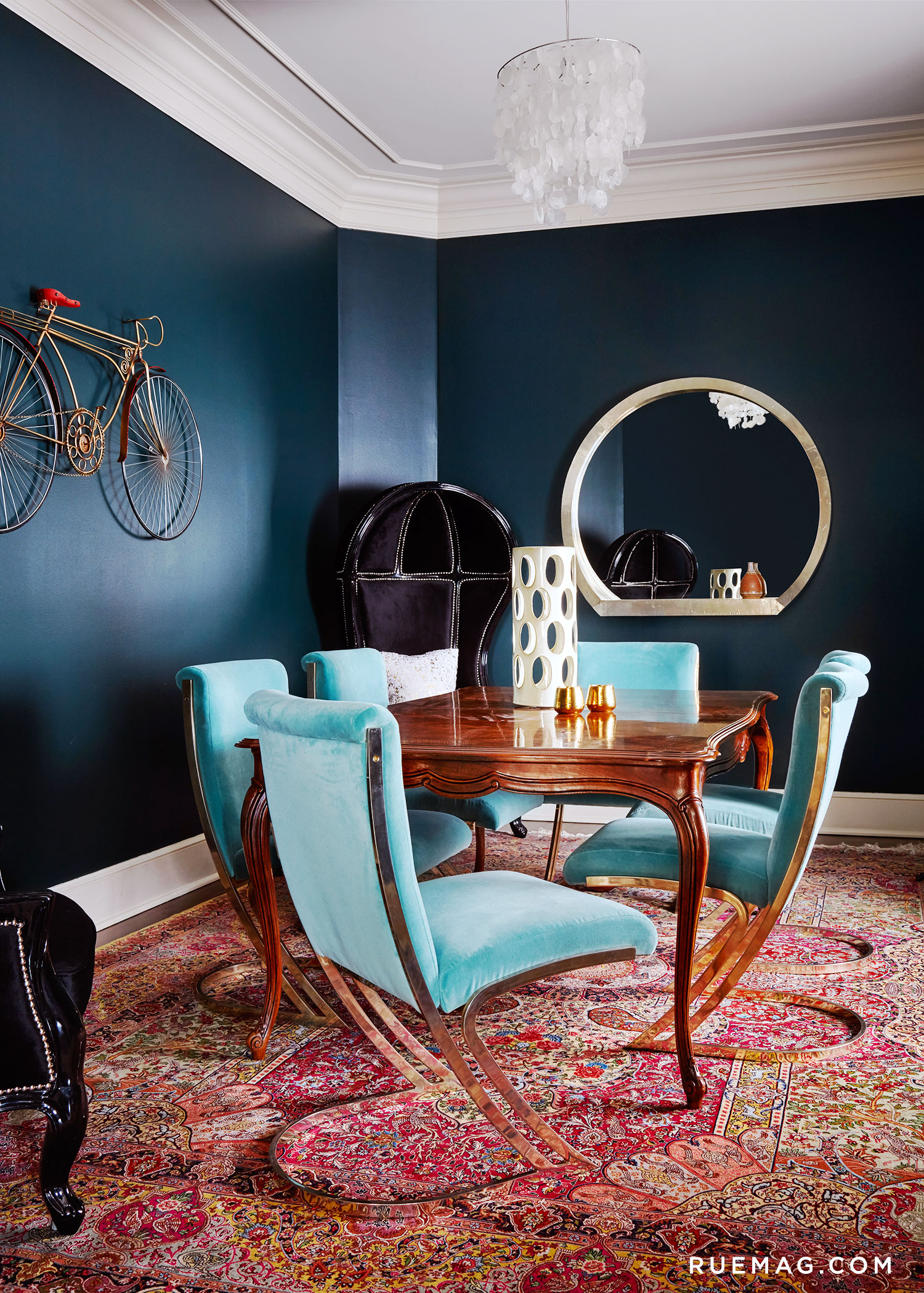 Blue Dining Room Chairs