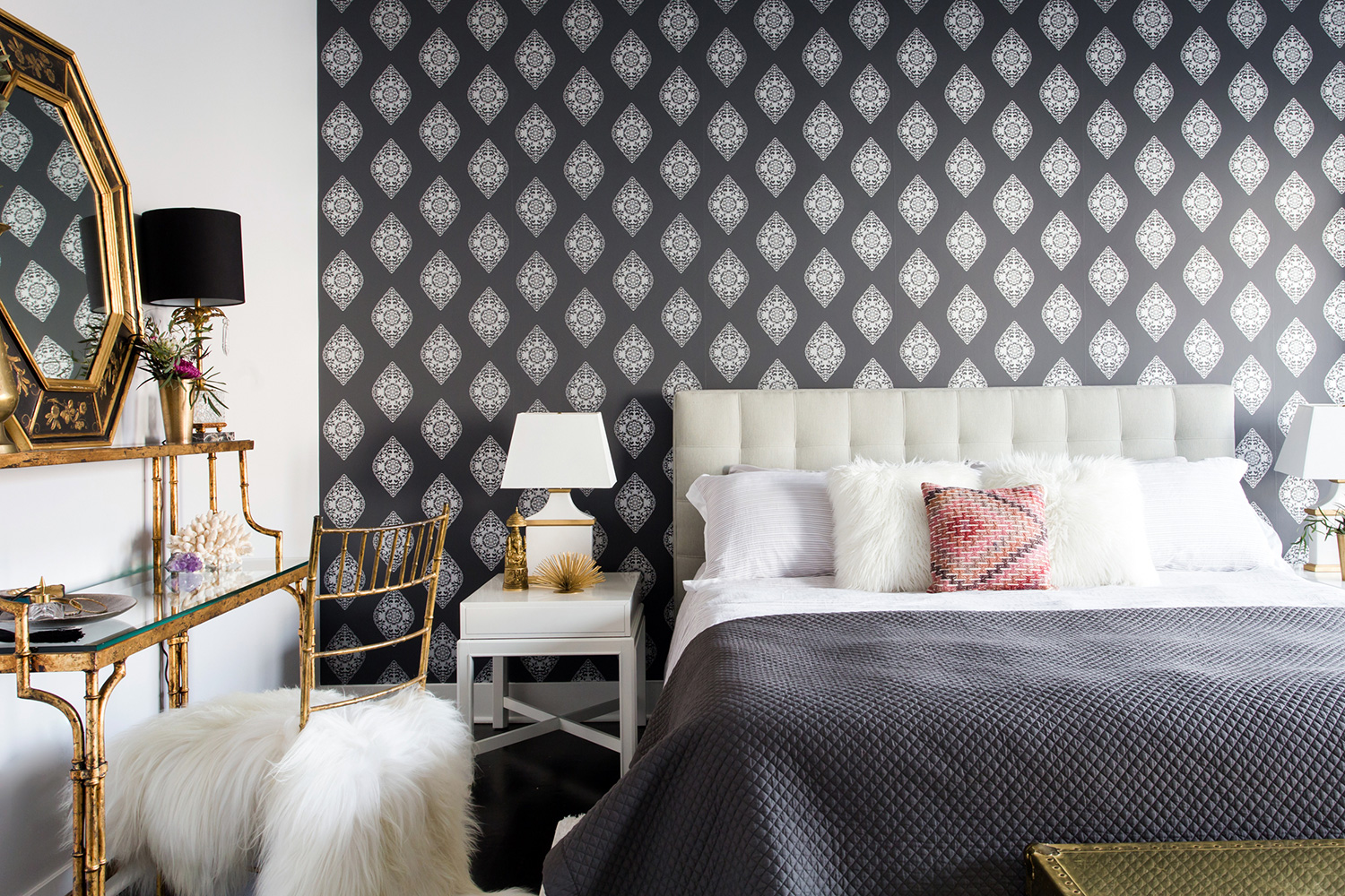 4ec3a89ed95 A Bohemian Bedroom by Centered by Design