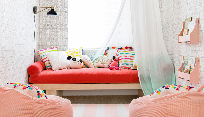 Emily Henderson Transforms A Playroom With The Pillowfort