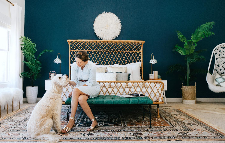 Decorist Designs A Bohemian Bedroom For Alexandra Evjen Rue