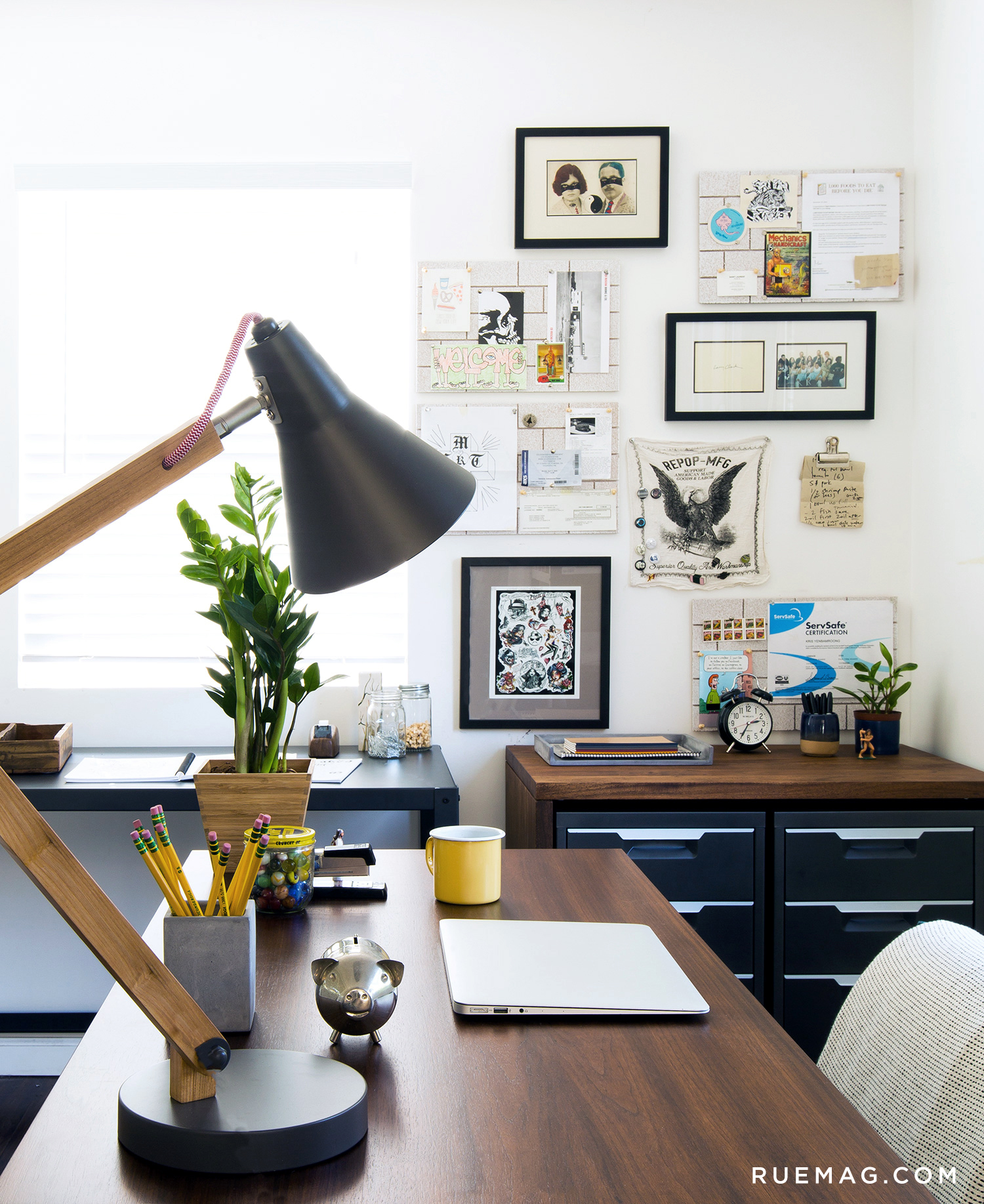 Inside a Chef\'s Home Office | Rue