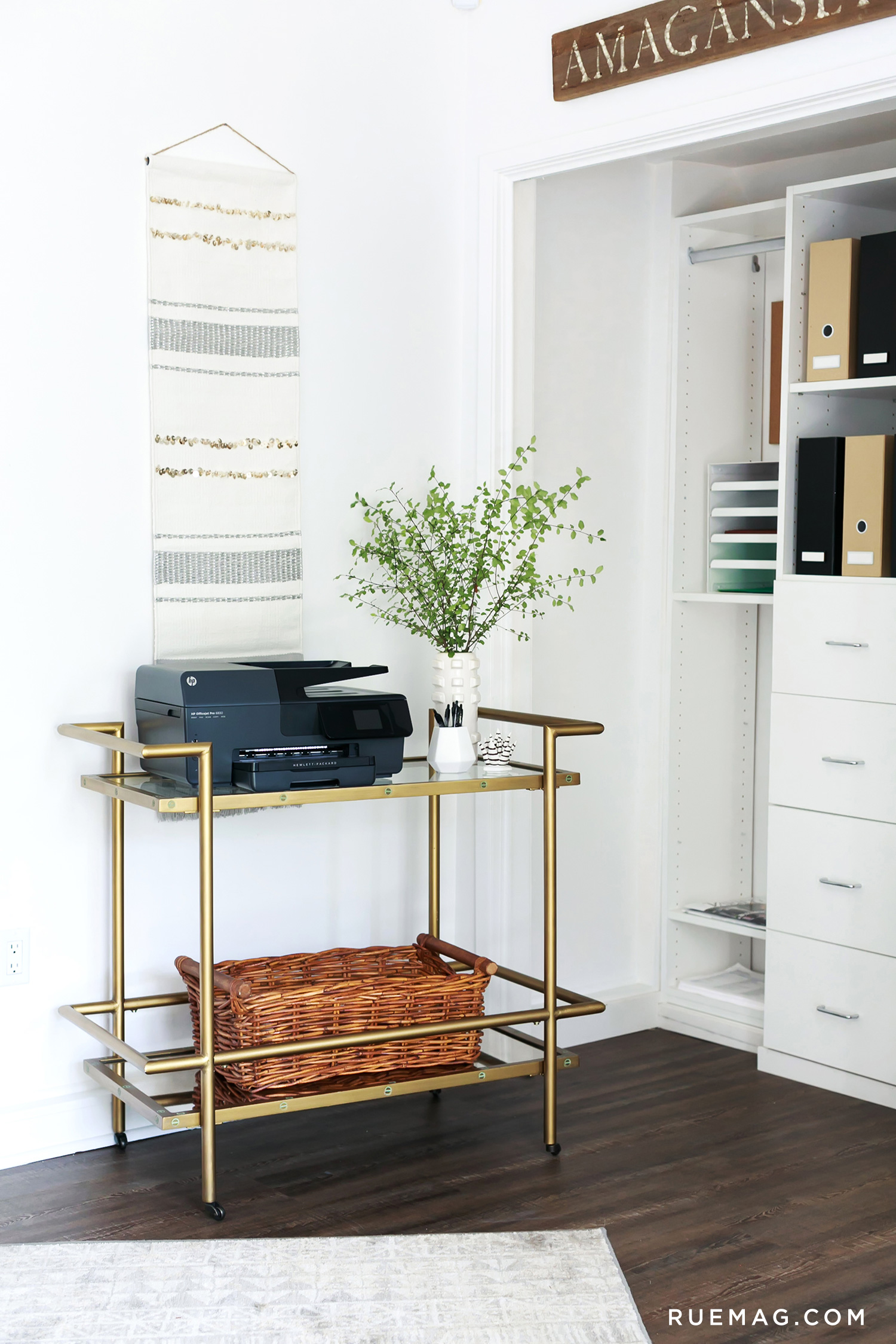 Jeremiah Brent Designs a Fresh and Functional Office | Rue