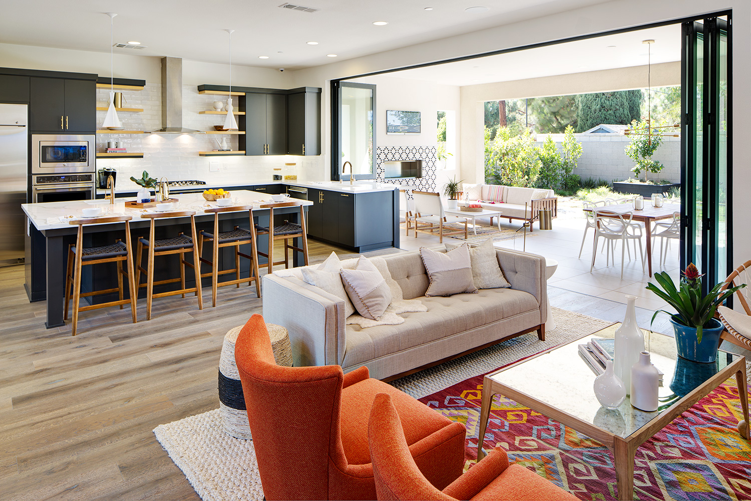 Updated Mid Century In Orange County Rue