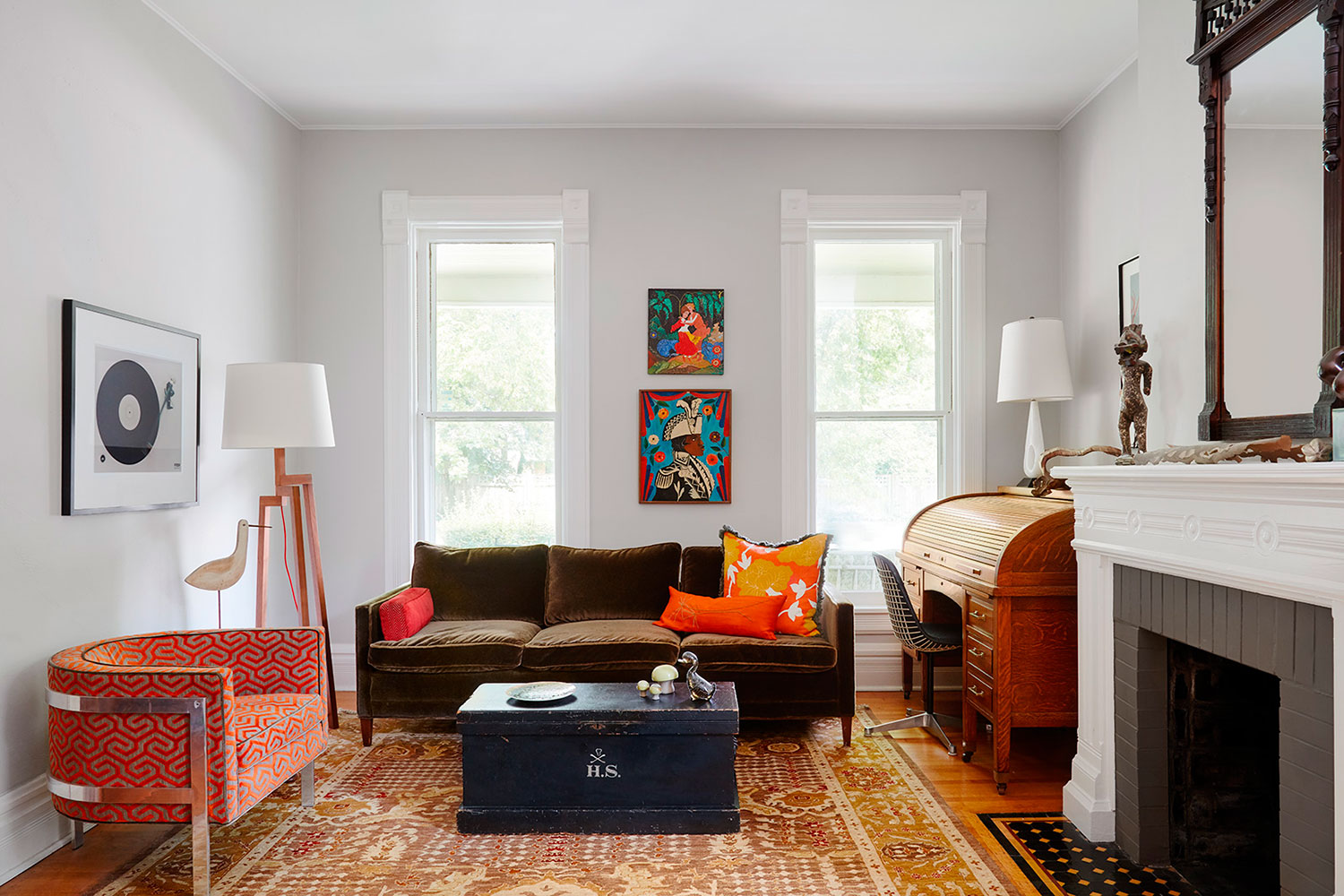 1960s Furnishings in an Historic 1880s Home | Rue