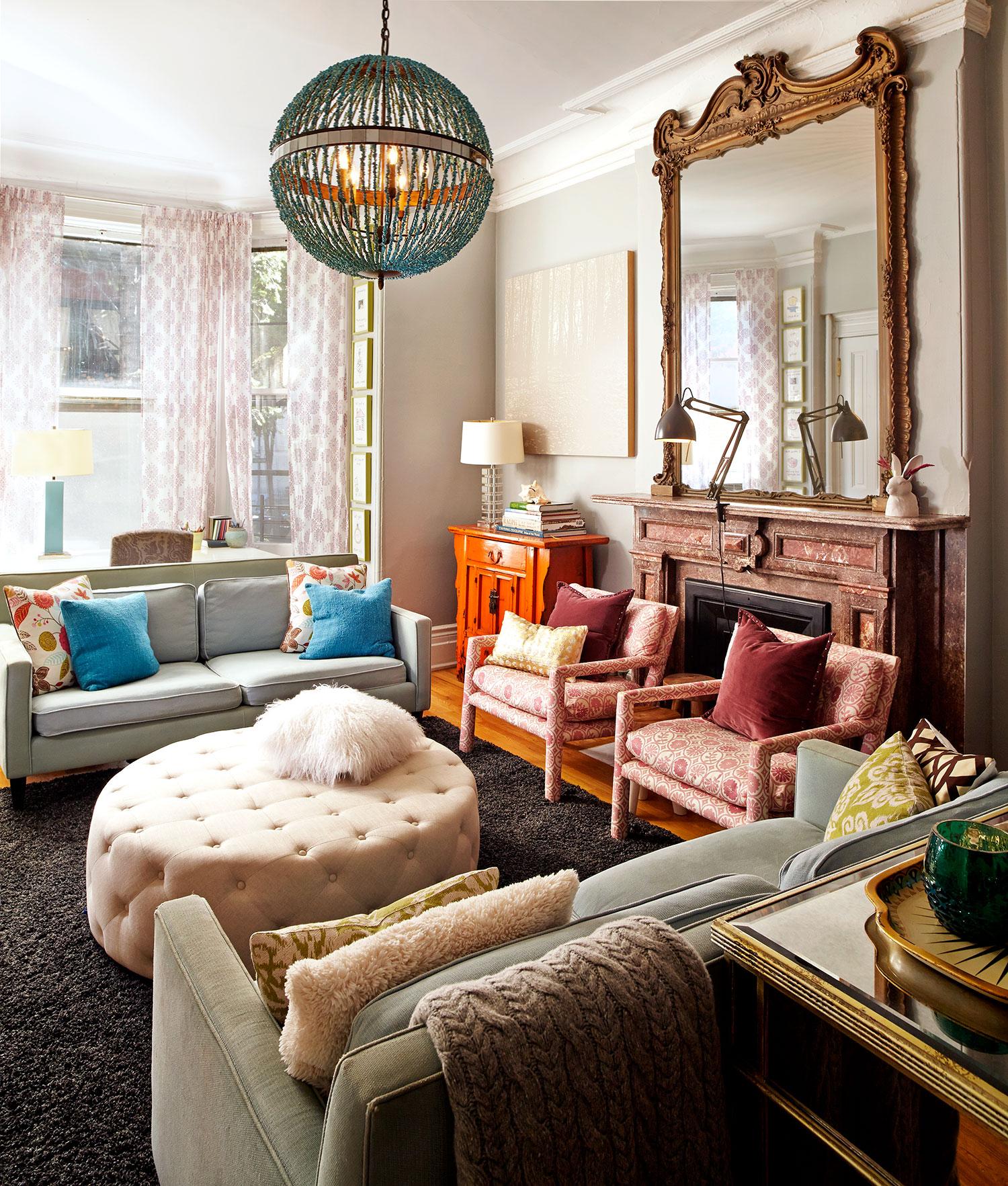 Beauty In A Rental Property PJ Mehaffey Transforms Brooklyn Brownstone