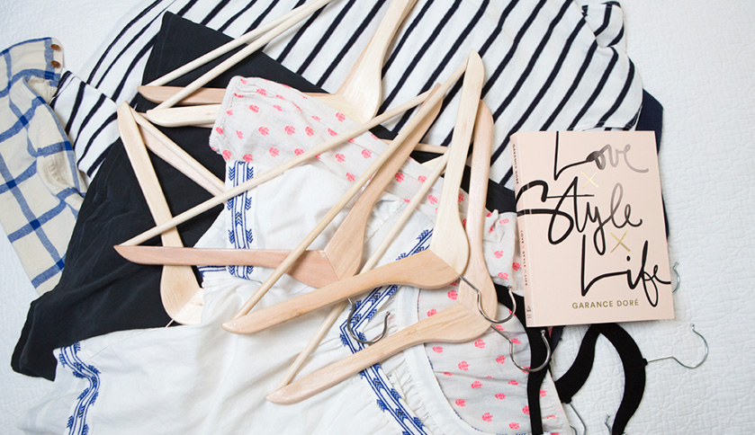 5 Simple Steps to a Streamlined + Stylish Closet