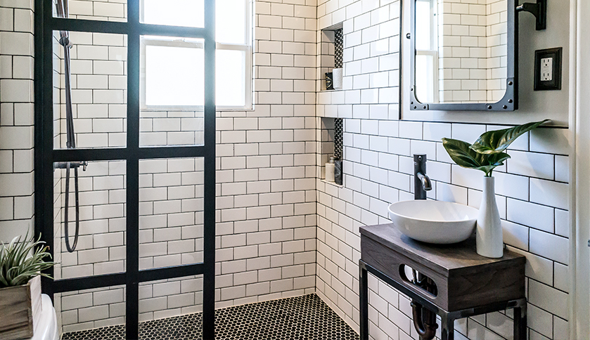 Form Meets Function In An Impressive Bathroom Renovation Rue - Where to start bathroom renovation