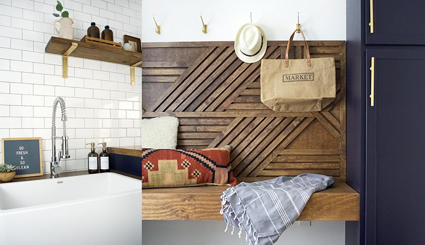 Bre Bertolini's Laundry Room Transformation