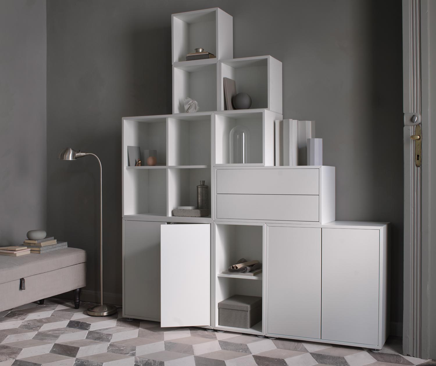 ikea office supplies. This Spring, IKEA Is Offering All Sorts Of Cool Modular Shelving And Storage Solutions. The EKET Series Feels Like Tetris For Your Office Supplies. Ikea Supplies G