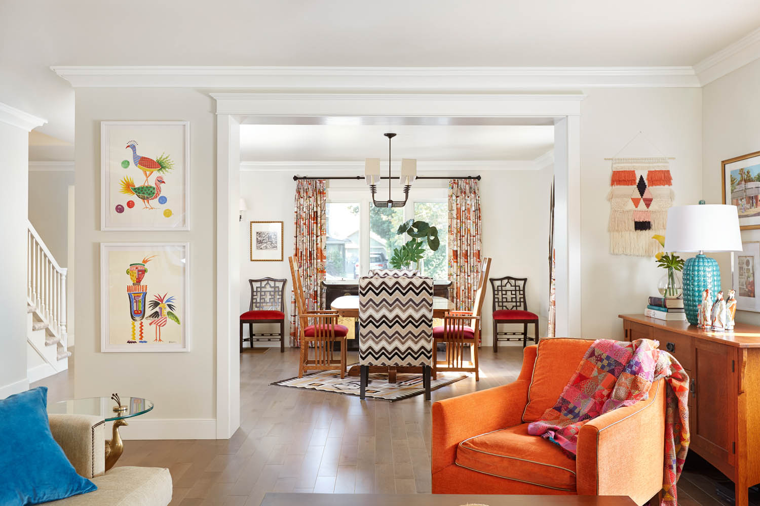 A Fun And Fresh Take On A California Bungalow Rue