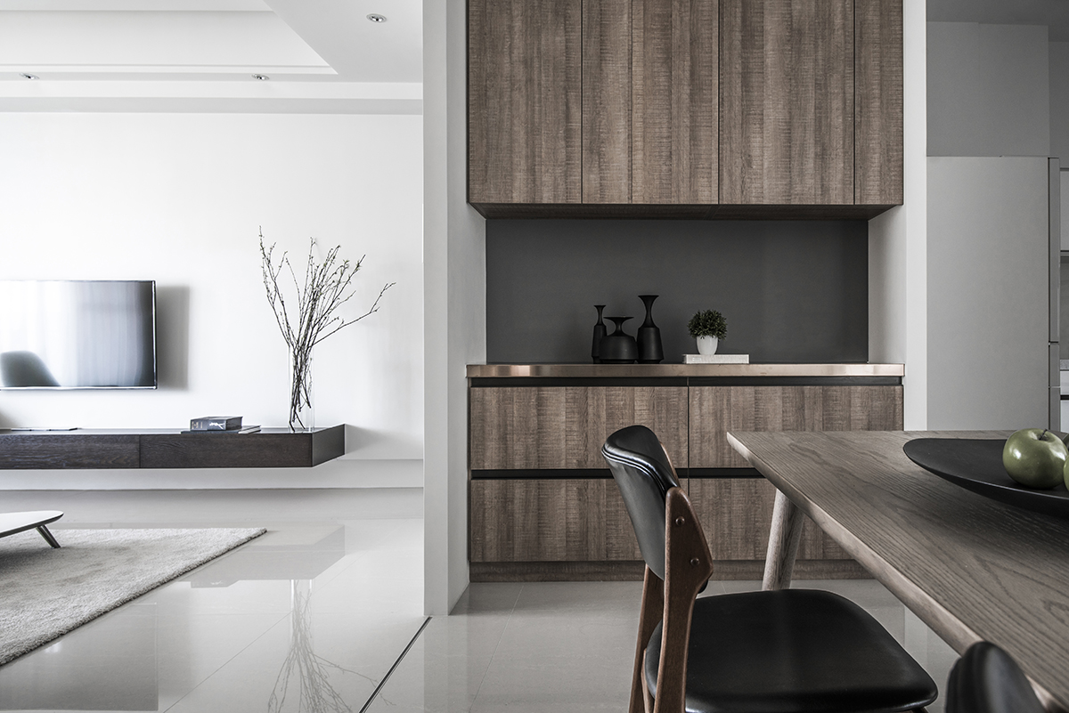 A Modern Nature Inspired Home in Taiwan | Rue