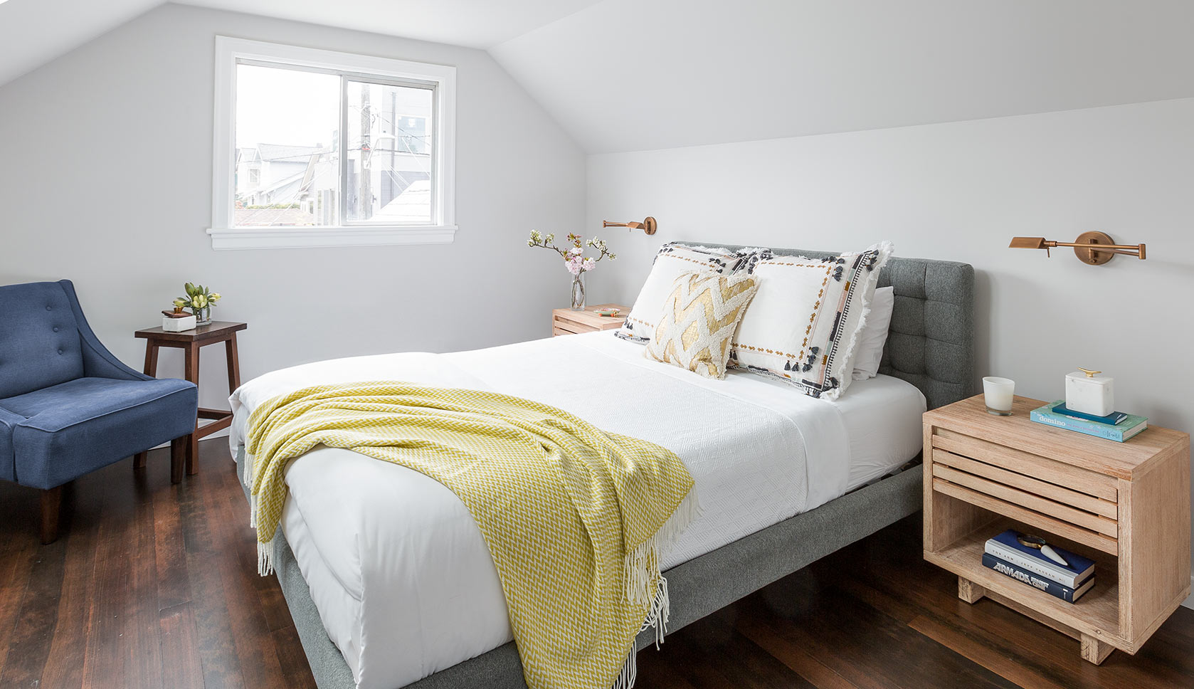 A Master Bedroom Attic Suite in Seattle
