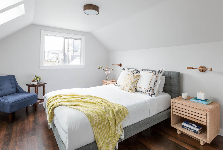 Attic Master Bedroom a master bedroom attic suite in seattle | rue