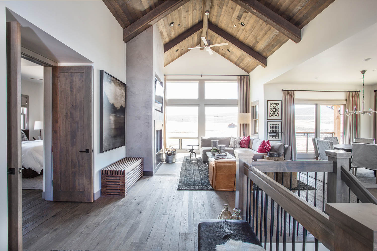 A Modern Mountain Model Home In Park City Rue