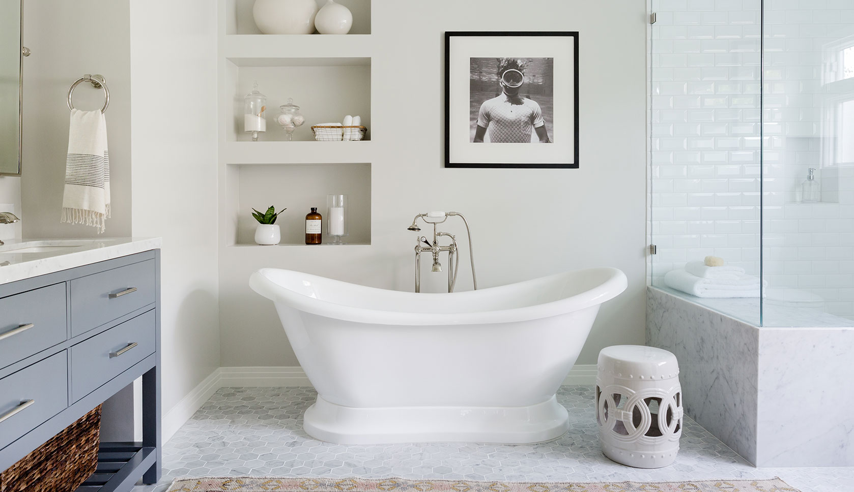 A Spa-Like Bathroom Makeover in Mar Vista | Rue