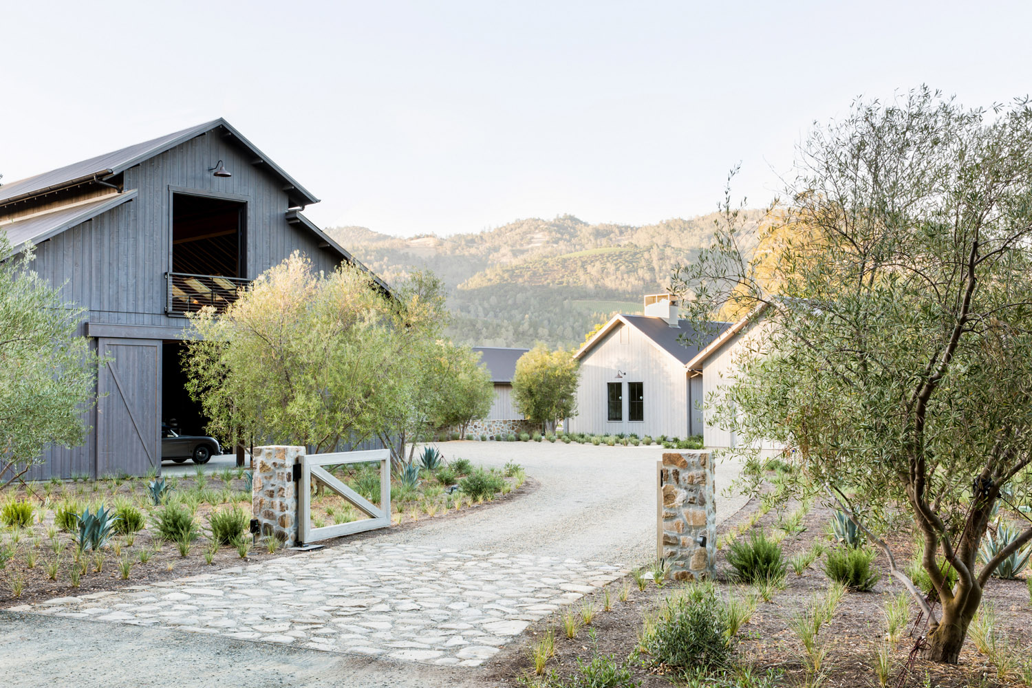A Dream California Wine Country Home Built From The Ground