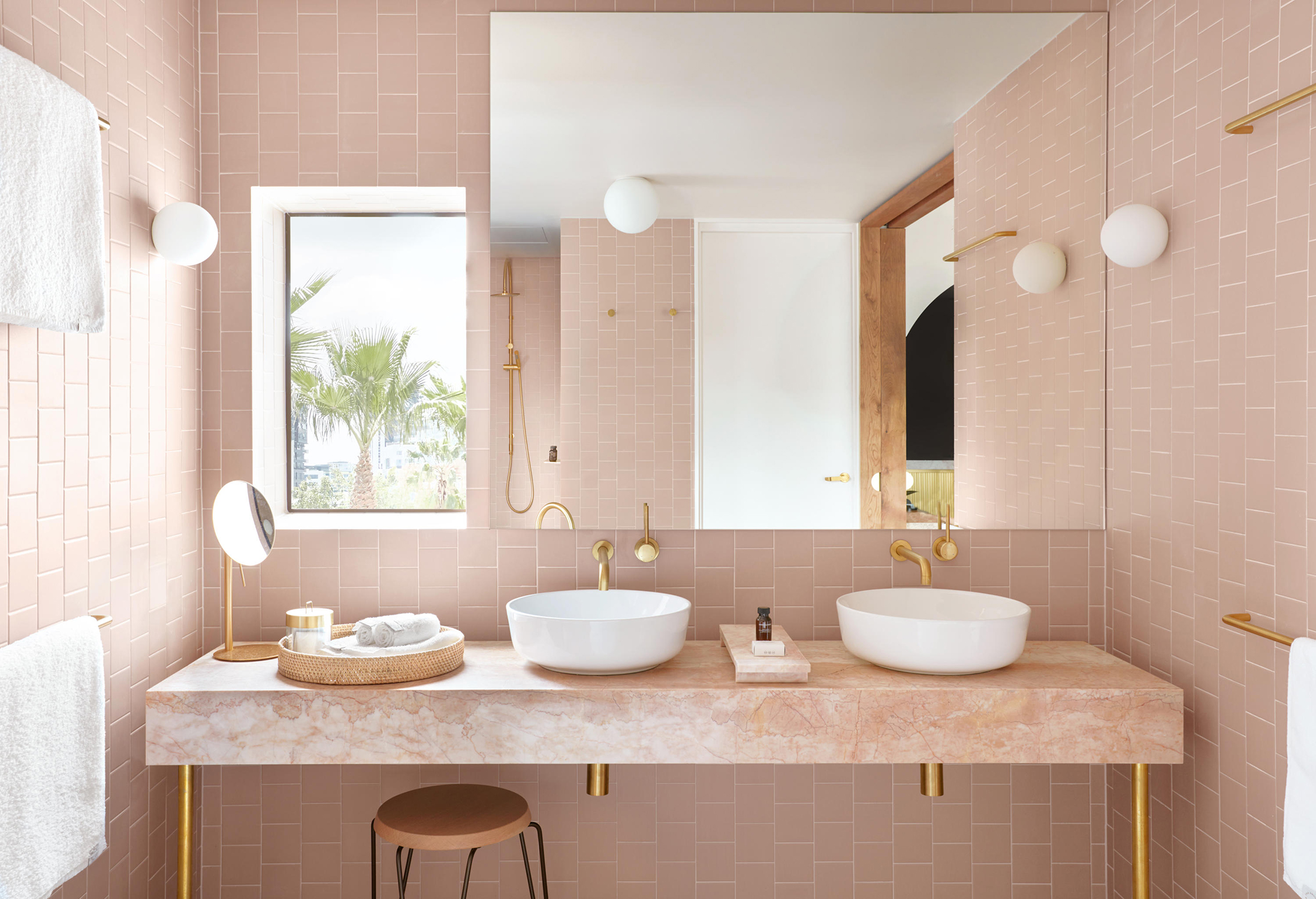 Pretty In Pink Marble Rue