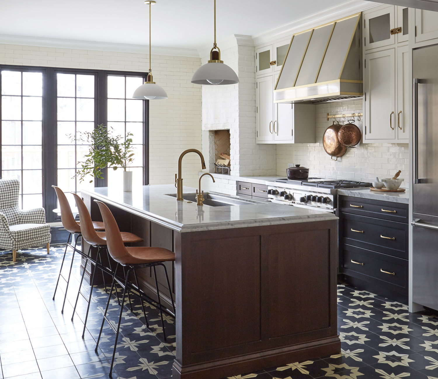 A Historical Inspired Kitchen With Industrial Vibes In Chicago Rue